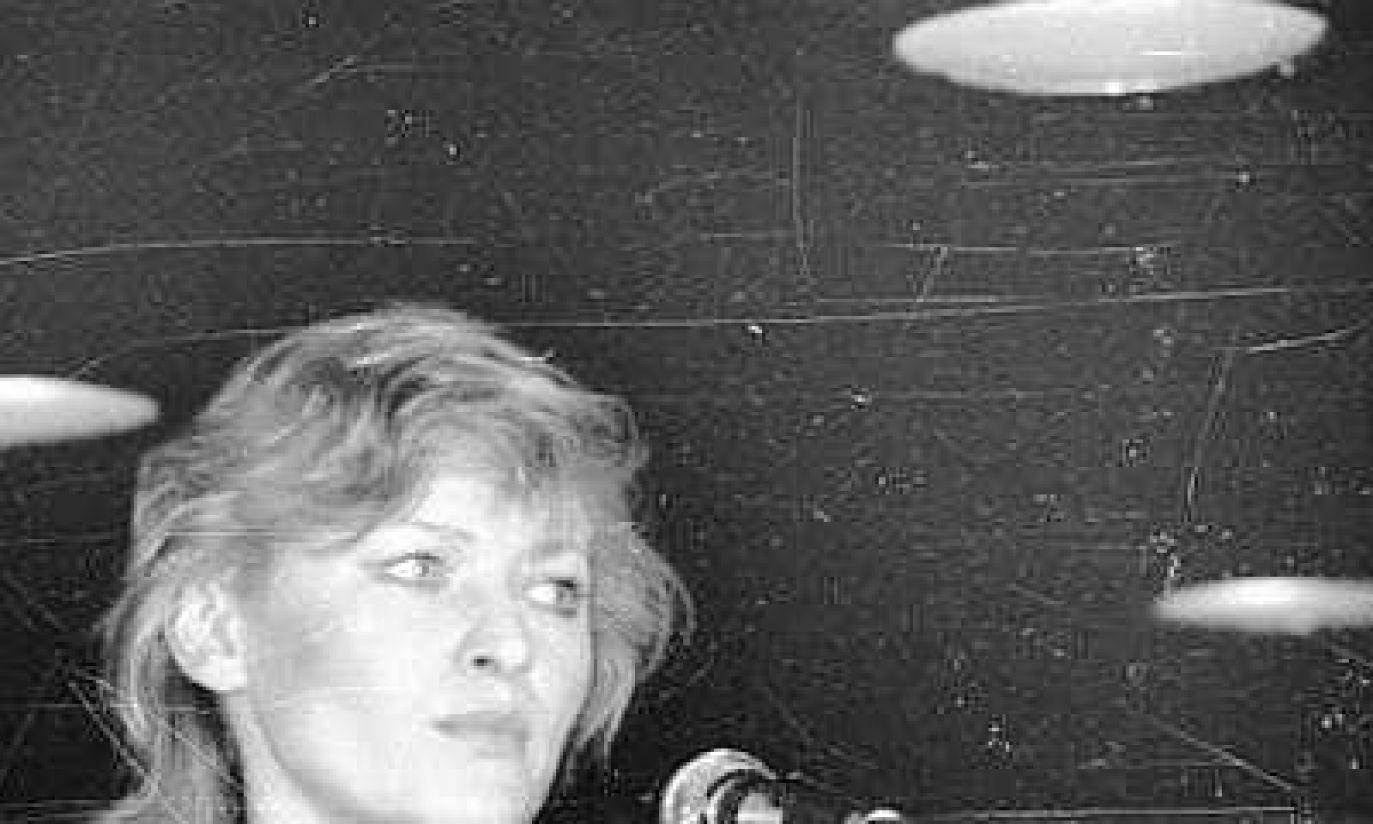 Młoda Edyta Geppert w 1985 roku (fot. arch. PAP/CAF/Andrzej Rybczyński)