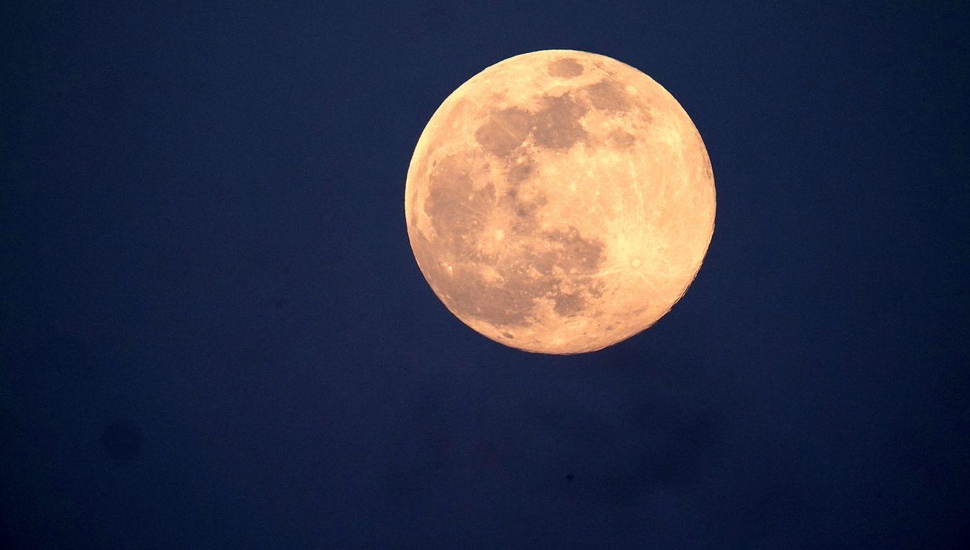 Czy na Księżycu znajduja sie wielkie złoża żelaza i tytanu? (fot. TF-Images/Getty Images)