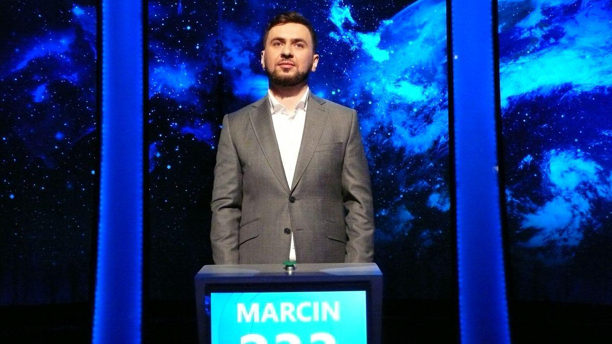 Pan Marcin Antoszak został zwycięzcą 12 odcinka 118 edycji