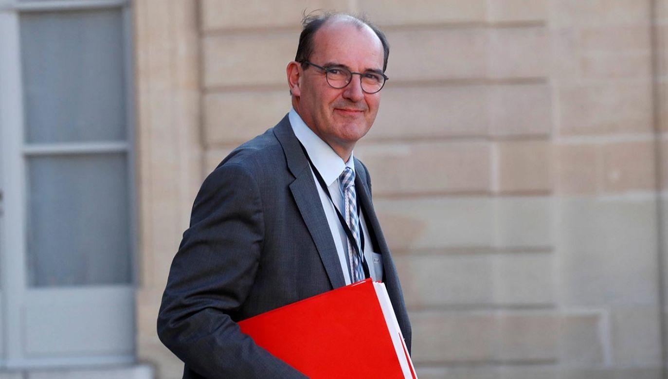 Zastąpi on Edouarda Philippe'a, który podał się do dymisji (fot. Shutterstock/Jean Castex)
