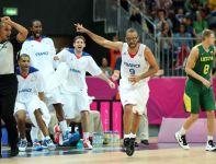 Tony Parker zdobył 27 punktów dla Francuzów (fot. Getty Images)