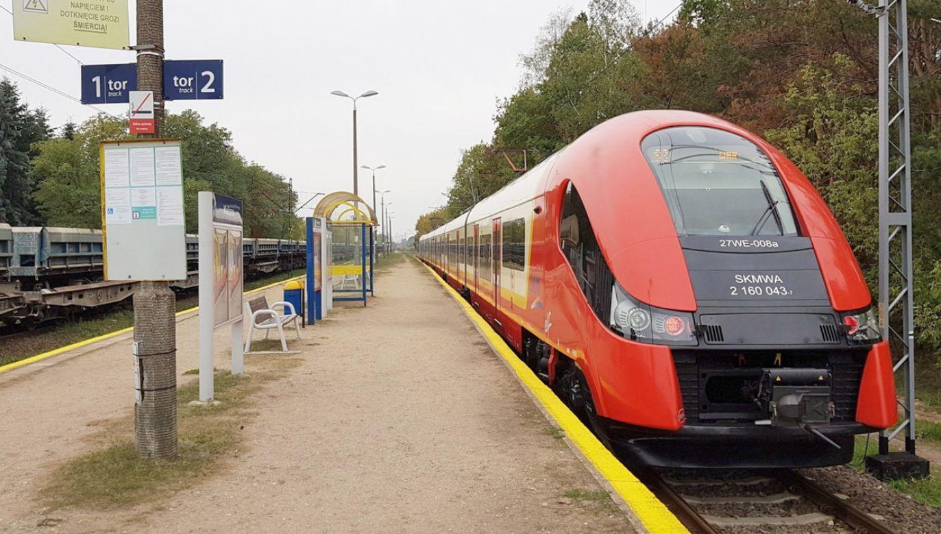 PKP Polskie Linie Kolejowe S.A. ogłosiły przetarg na remont trasy Wieliszew – Zegrze (fot. Materiały prasowe)