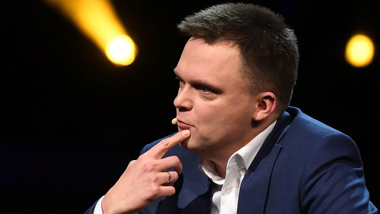 Hołownia deklaruje, że chce być prezydentem wszystkich Polaków (fot. PAP/Adam Warżawa)