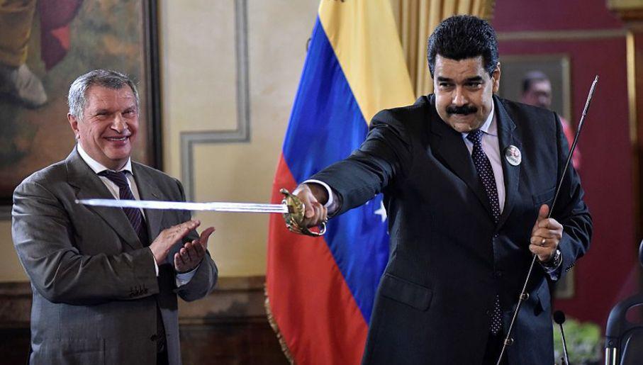 Nicolas Maduro rządzi wyjątkowo nieudolnie (fot. Carlos Becerra/Anadolu Agency/Getty Images)