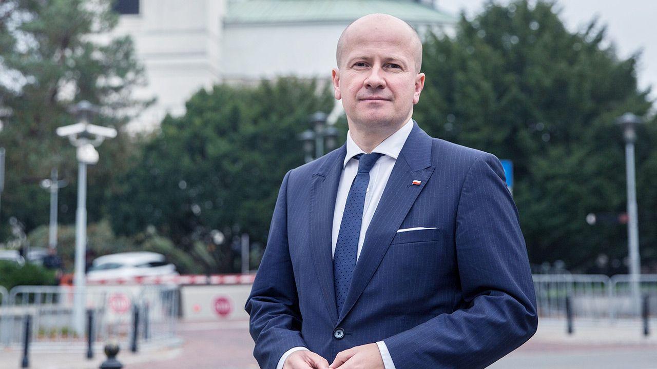Bartłomiej Wróblewski (fot. Forum/Tomasz Golab)