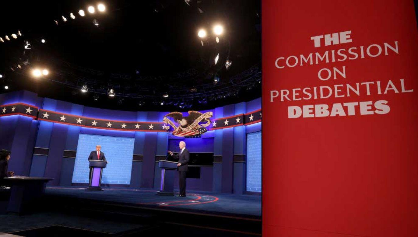 Od tego spotkania może zależeć wynik wyborów (fot.  Justin Sullivan/Getty Images)