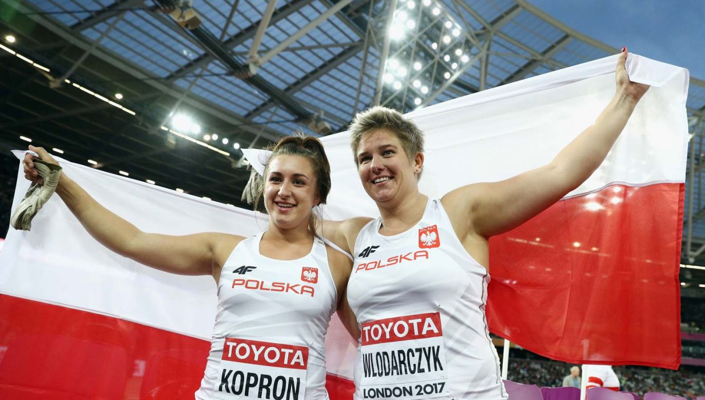Anita Włodarczyk złota, Malwina Kopron brązowa (fot. Getty Images)