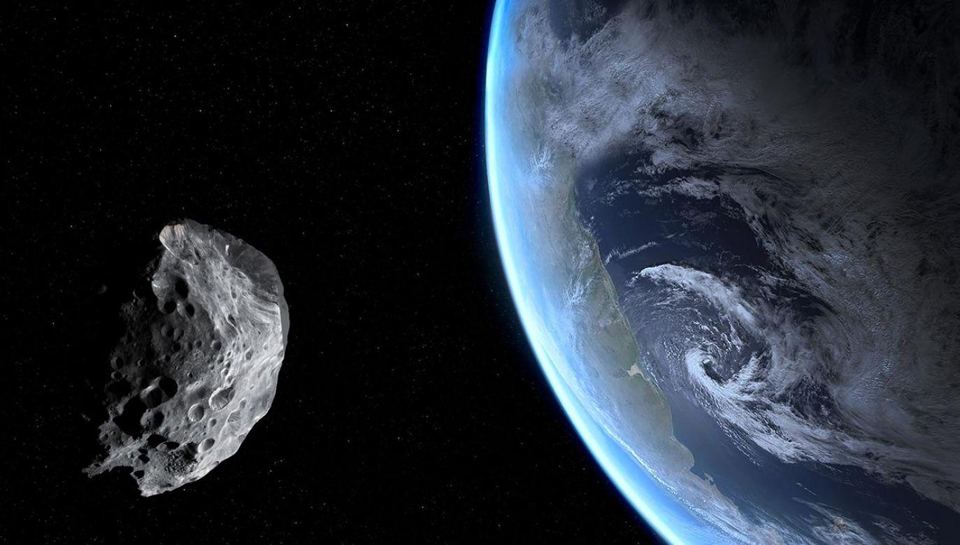 Apophis znajdzie się także bardzo blisko Ziemi w 2068 roku (fot. Shutterstock/Dima Zel)
