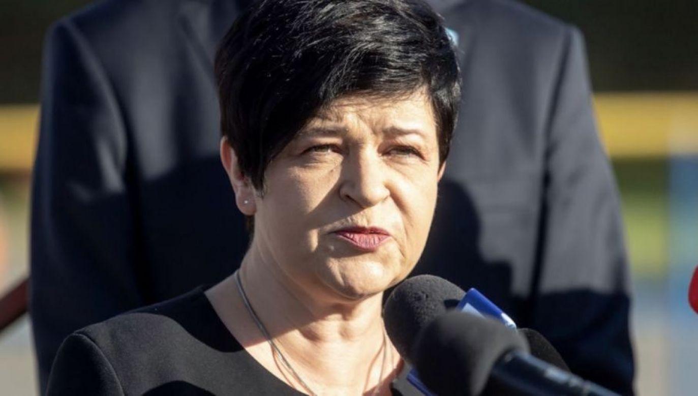 Posłanka odzyskała dostęp do konta po zgłoszeniu sprawy na policję (fot PAP/Tytus Żmijewski)