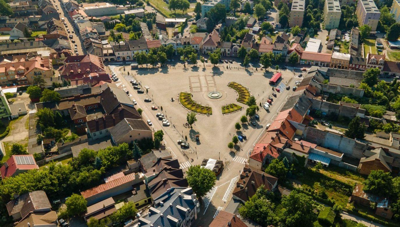 Rynek w Łowiczu