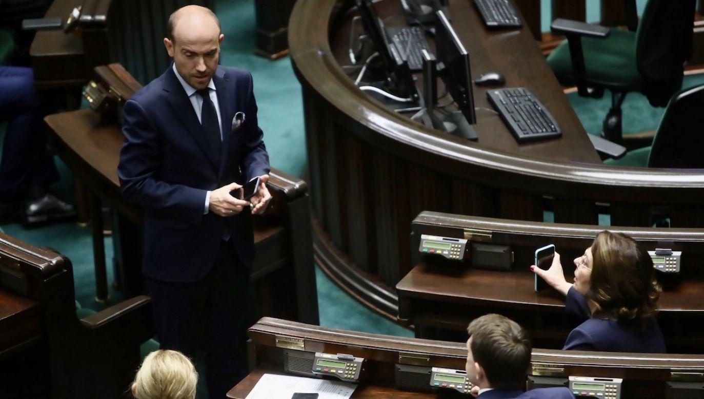 Lider PO dodał, że nie ma żadnych uzgodnień w sprawie poparcia sprawy odłożenia wyborów na czas po 6 sierpnia (fot. PAP/Wojciech Olkuśnik)
