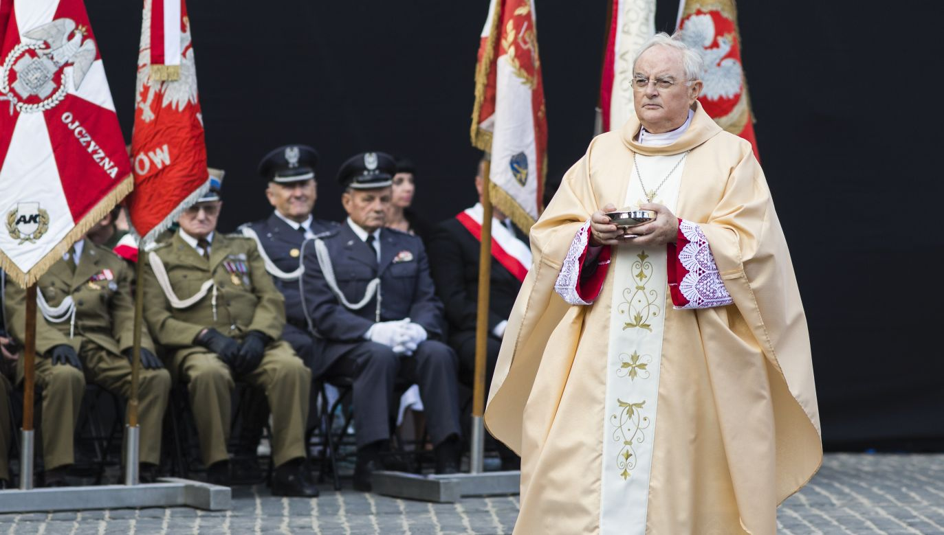 Arcybiskup Henryk Hoser (fot. Adam Guz/Getty Images Poland/Getty Images)