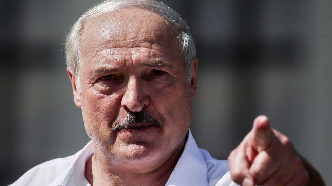 Łukaszenka: Przeciwko Białorusi toczy się dyplomatyczna wojna na najwyższym szczeblu (fot. Valery Sharifulin\TASS via Getty Images)