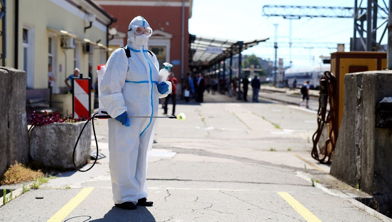 W sobotę w Chorwacji odnotowano 140 nowych infekcji (fot. Reuters/Antonio Bronic)