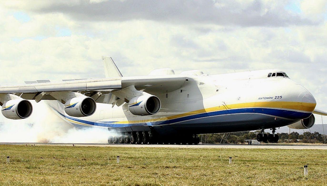 Na świecie lata tylko jeden egzemplarz An-225 (fot. Paul Kane/Getty Images)