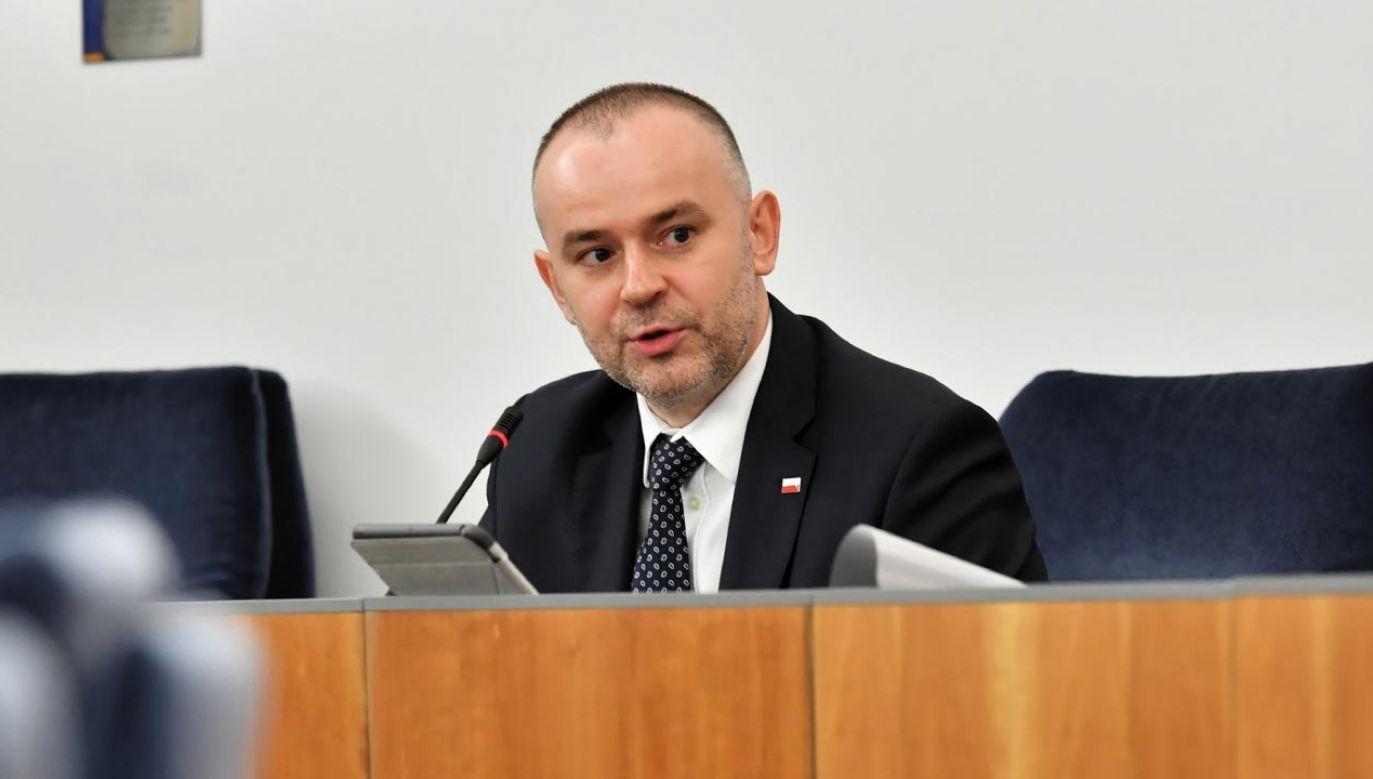 """""""Choroba nie wybiera"""" (fot.  PAP/Piotr Nowak)"""