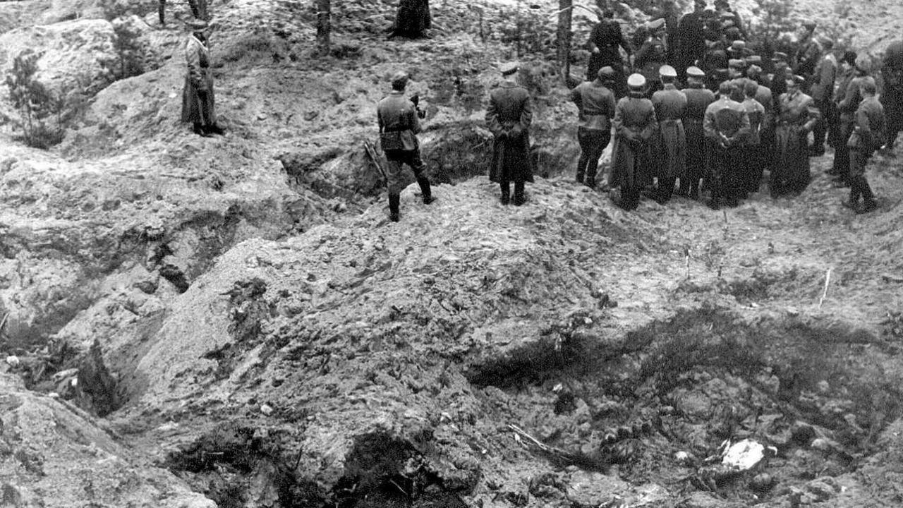 W ramach zbrodni katyńskiej Rosjanie wymordowali około 22 tysiące Polaków (fot. IPN)