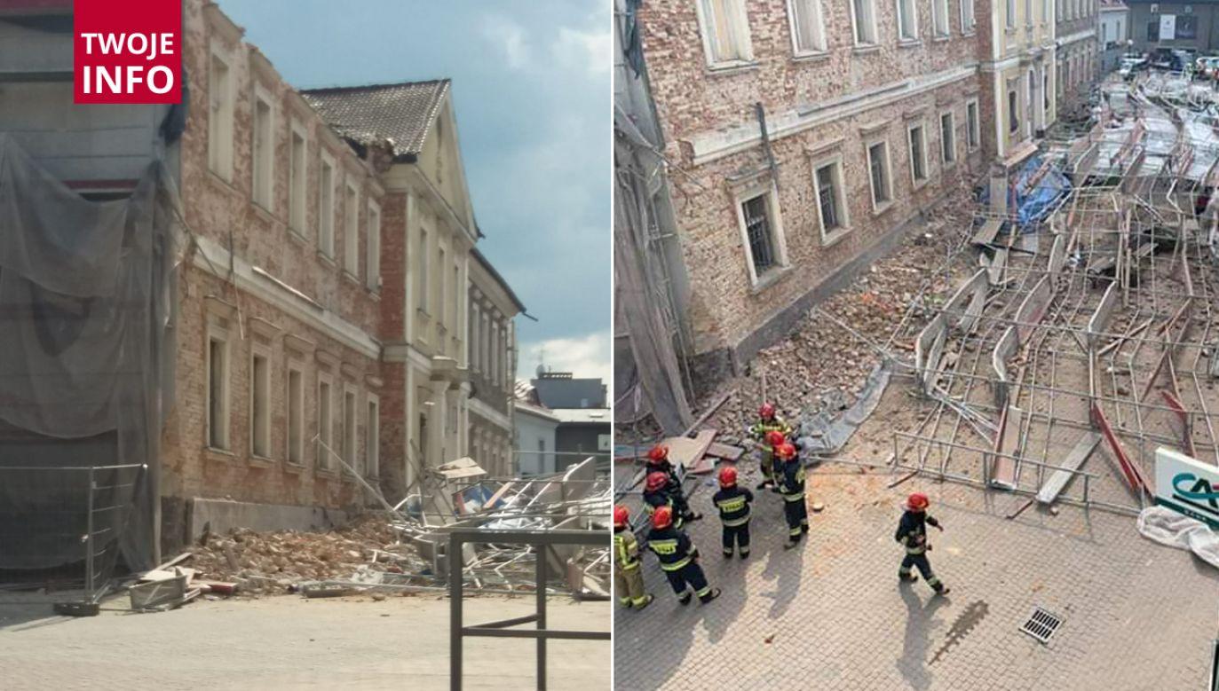 Działania koordynuje straż pożarna i policja (fot. Twoje info)