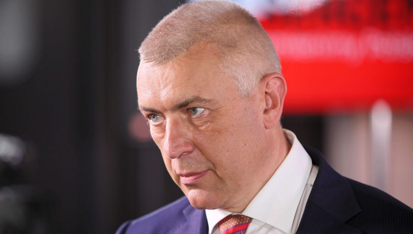 Giertych brał udział w wieczorze wyborczym Szymona Hołowni (fot. PAP/Leszek Szymański)