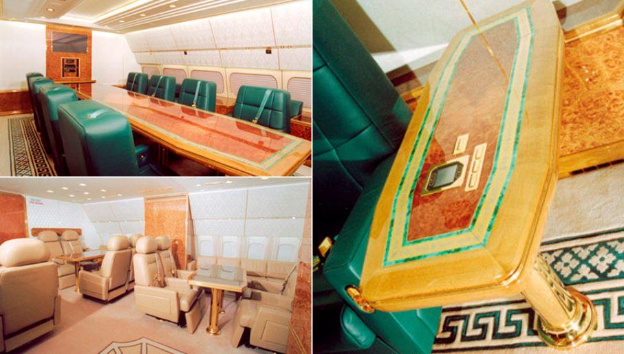 Umeblowanie samolotu kosztowało 17 mln dolarów (fot. za: luxurylaunches.com)