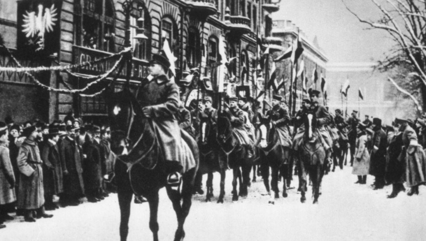 Powstanie wielkopolskie wybuchło 27 grudnia 1918 r. w Poznaniu. Większą część Wielkopolski wyzwolono do połowy stycznia 1919 roku (fot. ipn.gov.pl)