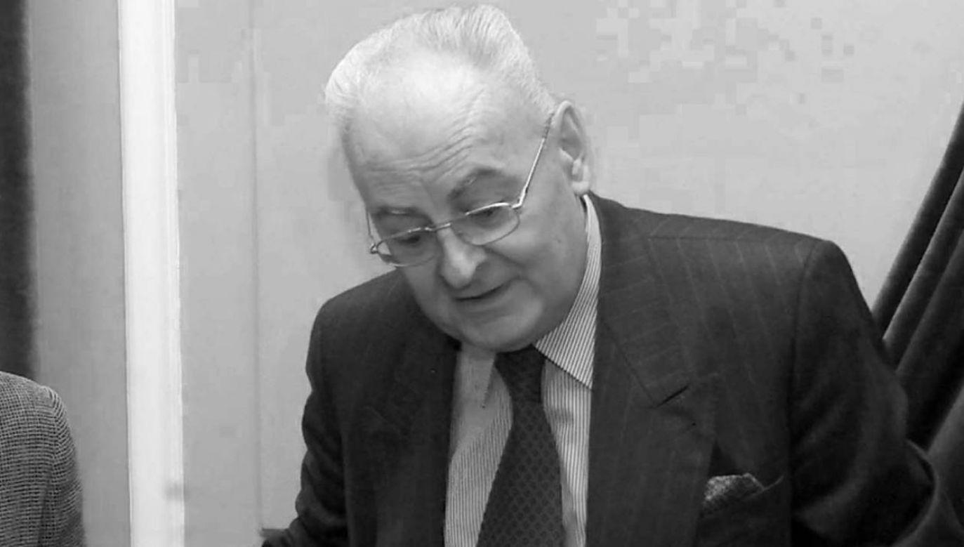 Prof. Jerzy Łukaszewski zmarł w wieku 95 lat (fot. Przemek Wierzchowski)