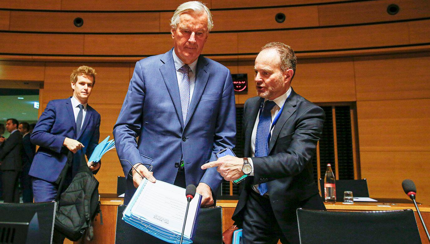 Nowe brytyjskie propozycje są dla UE niewystarczające (fot.PAP/EPA/JULIEN WARNAND)
