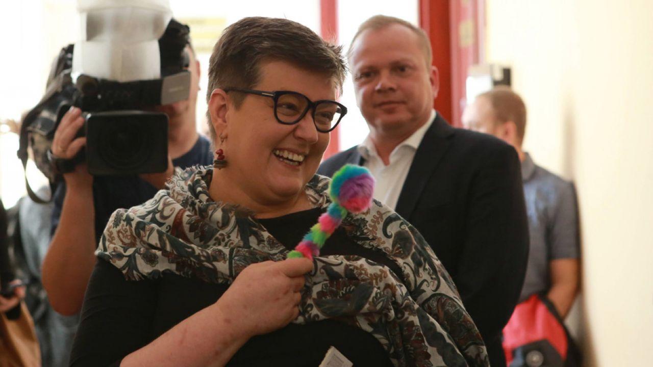 Działaczka społeczna Elżbieta Podleśna (fot. arch.PAP/Piotr Augustyniak)