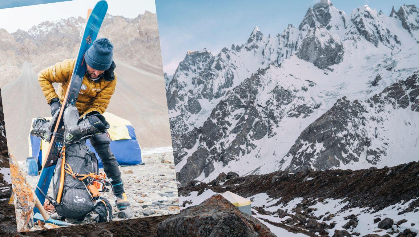 Andrzej Bargiel wkrótce rozpocznie atak szczytowy na Laila Peak (fot.TT/Andrzej Bargiel)
