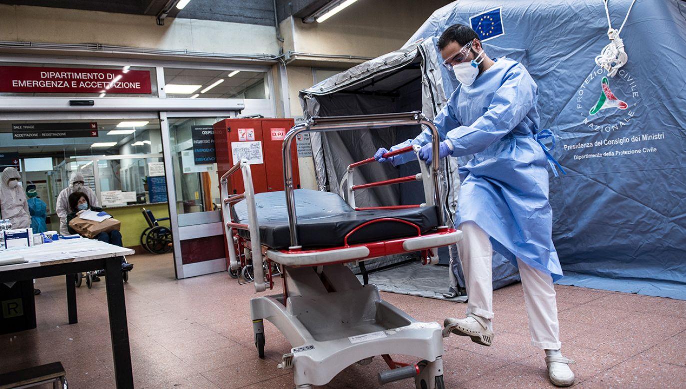 Obecnie zakażonych w całym kraju jest ponad 66 tys. osób (fot. Stefano Guidi/Getty Images)