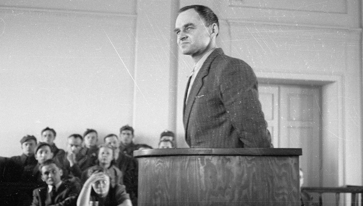 Brytyjski autor książki o Witoldzie Pileckim opowiadał o rotmistrzu w kanadyjskim radiu (fot. arch.PAP/Stanislaw Dabrowiecki)