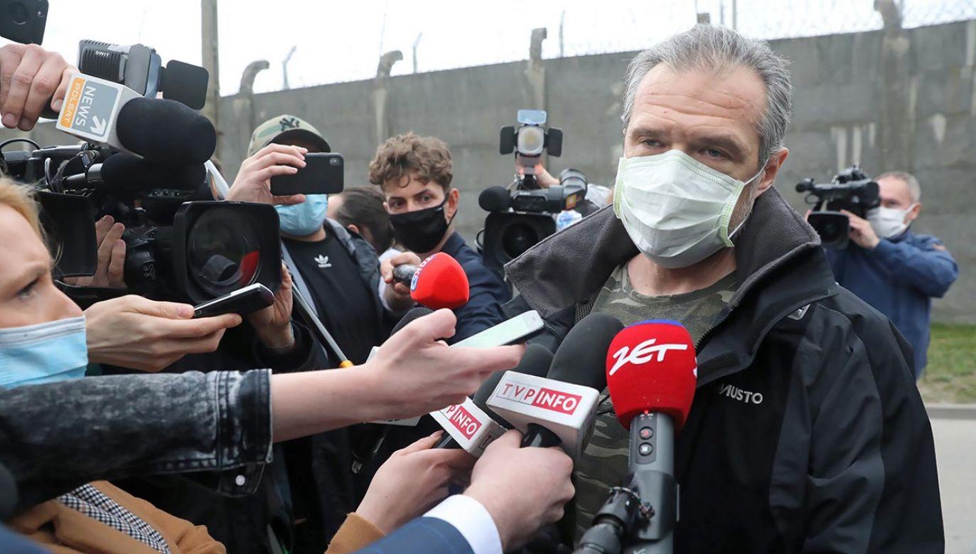 Sławomir Nowak (fot. PAP/Tomasz Gzell)