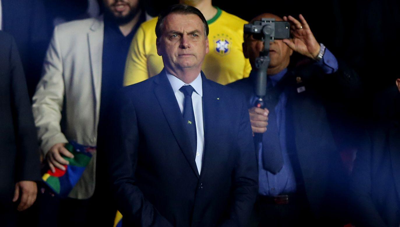 Brazylia jest największym i najsilniejszym członkiem Mercosur. Na zdjęciu prezydent Jair Bolsonaro (fot. Alexandre Schneider/Getty Images)
