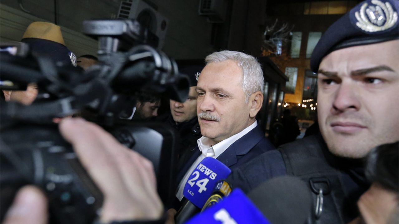 Liviu Dragnea był skazany za oszustwa wyborcze na dwa lata w zawieszeniu (fot. PAP/EPA/ROBERT GHEMENT)