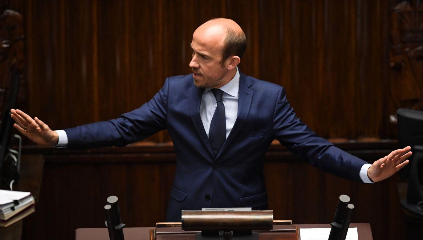 Lider PO podważył wyłonienie pięciorga kandydatów na I prezesa SN (fot. PAP/Radek Pietruszka)