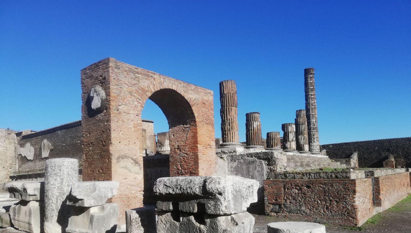 Starożytne Pompeje nadal czekają na odkrycie (fot. portal tvp.info)