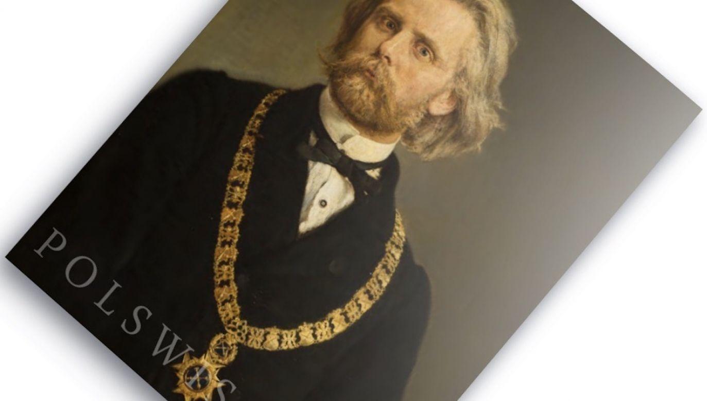 """""""Portret prof. dr. Karola Gilewskiego"""", który powstał w 1872 r., to przykład najlepszego malarstwa portretowego Jana Matejki (fot. Materiały prasowe)"""