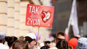 W sprawie dopuszczalności aborcji eugenicznej orzekał Trybunał Konstytucyjny (fot. Jaap Arriens/NurPhoto via Getty Images)