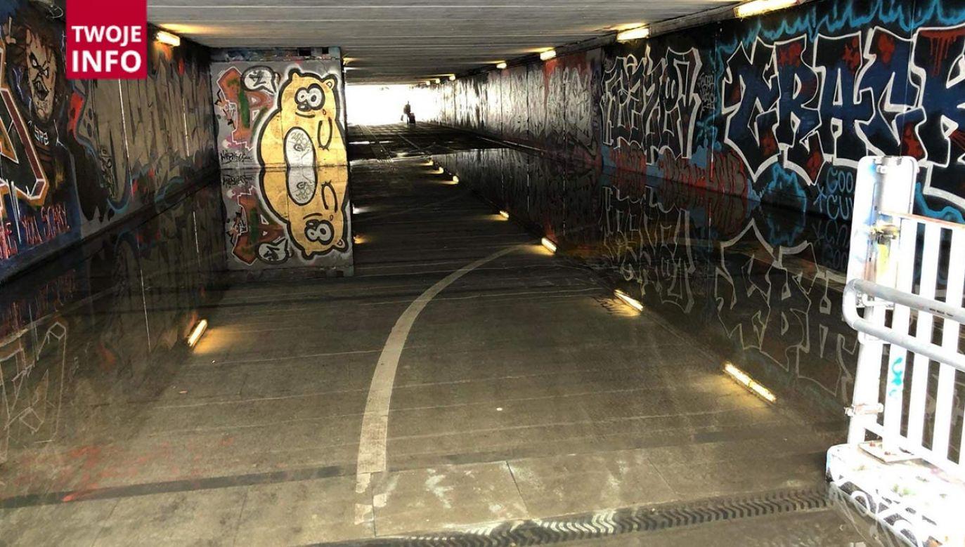 Przejście podziemne przy Dolinie Służewieckiej (fot. Twoje Info)