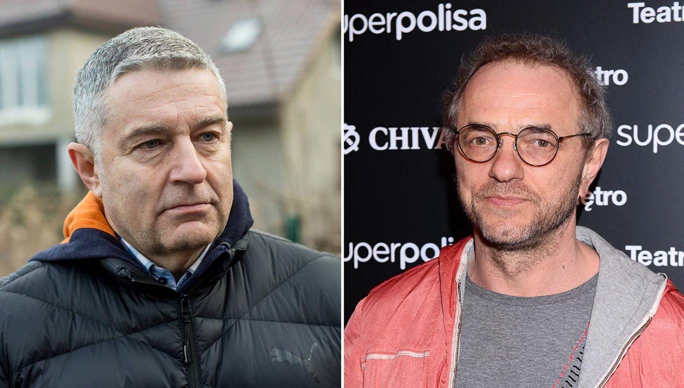 Władysław Frasyniuk i Piotr Najsztub (fot. PAP/StrefaGwiazd/Marcin Kmieciński; PAP/Maciej Kulczyński)