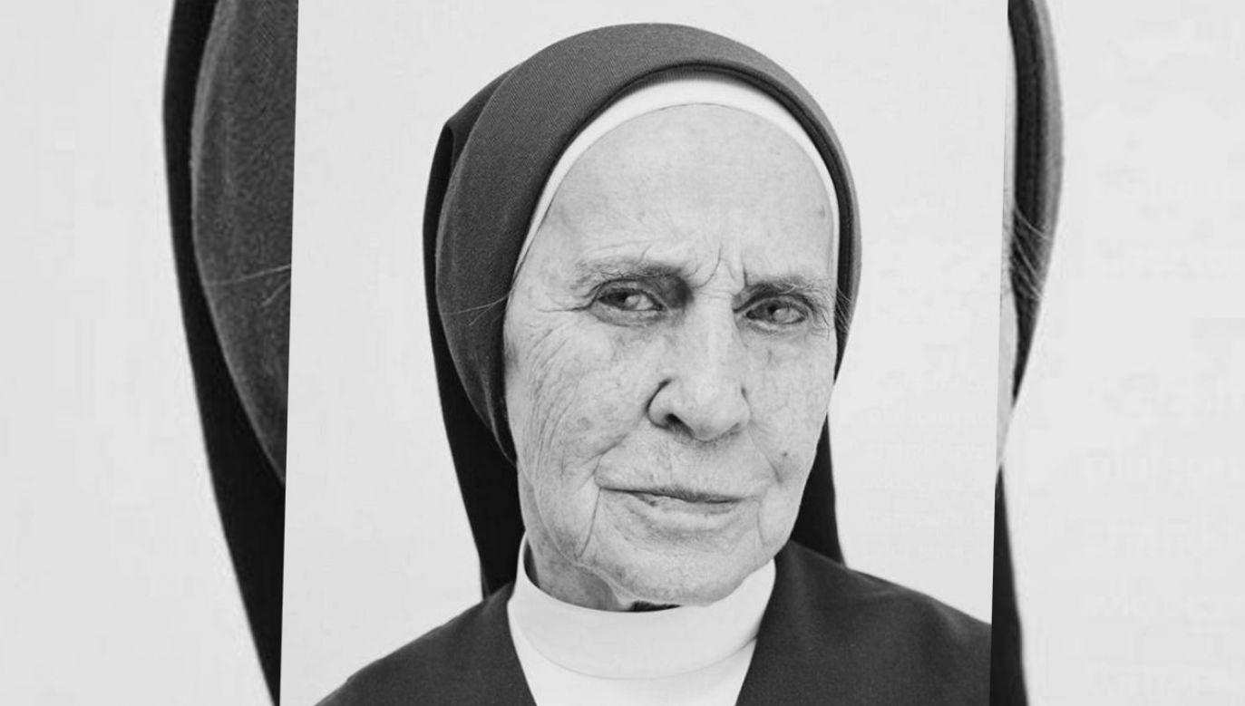 Siostra Lucyna Reszczyńska (fot. tt/@NieZapomnijONas)
