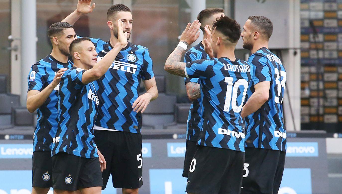Inter Mediolan zdobył pierwszy tytułpo 11 latach przerwy (fot. PAP/EPA/MATTEO BAZZI)