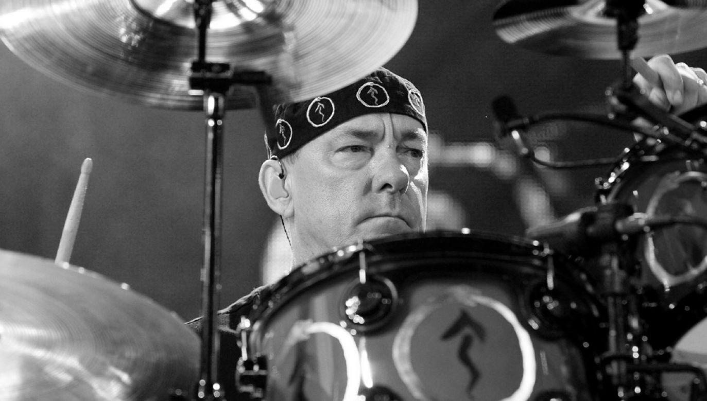 Neil Peart był jednym z najwybitniejszych perkusistów w historii rocka (fot. PAP/EPA/STEVE C. MITCHELL)