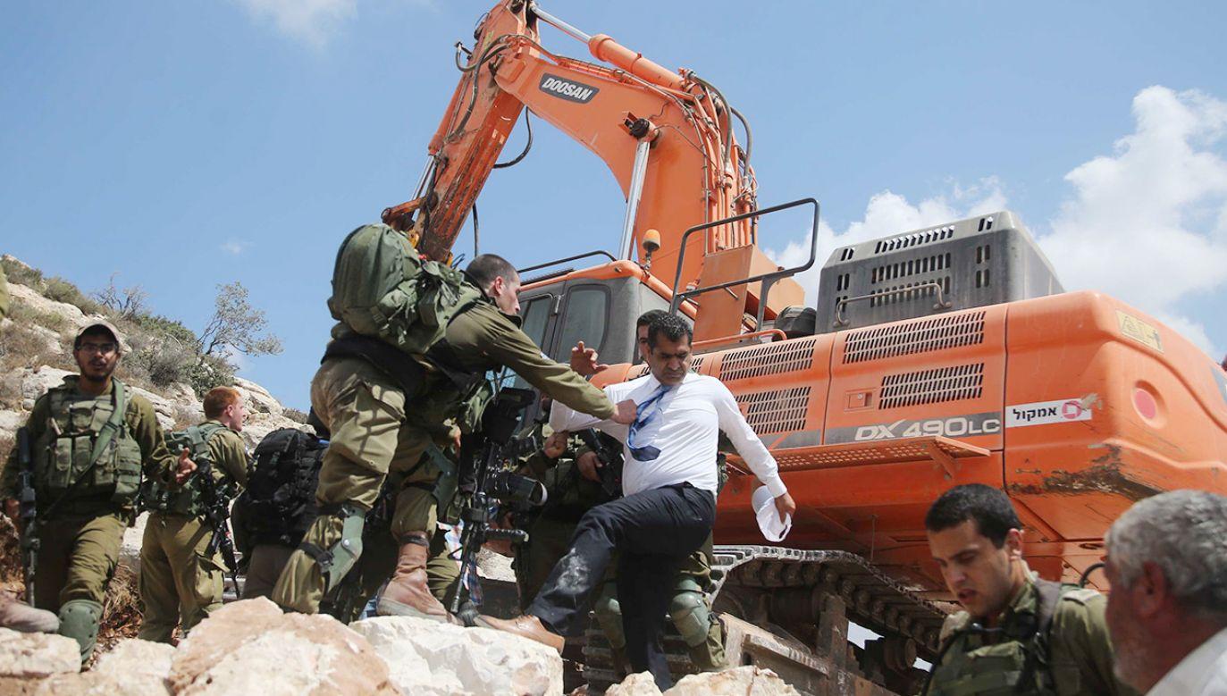 Izrael chce rozbudować osiedla w Har Homa, między Jerozolimą Wschodnią a Betlejem (fot. Issam Rimawi/Anadolu Agency/Getty Images)