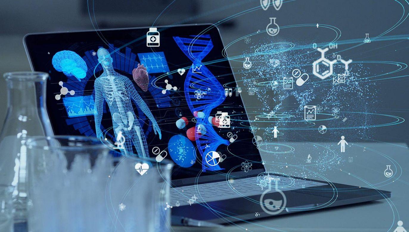 Aby wybrać zatwierdzone leki, badacze zwrócili się do big data i sztucznej inteligencji (fot. Shutterstock/metamorworks)