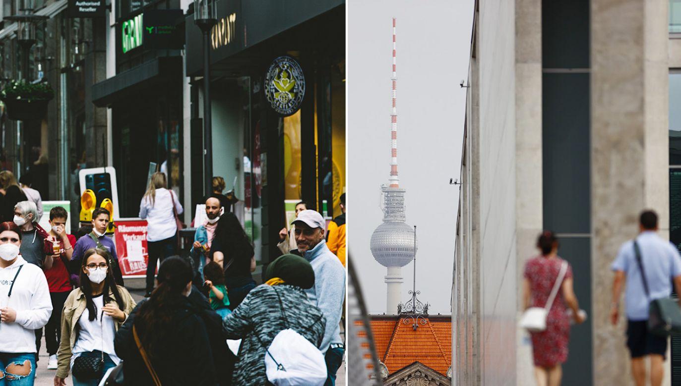 W Niemczech liczba przypadków Covid-19 rośnie od początku lipca (fot. Getty Images)