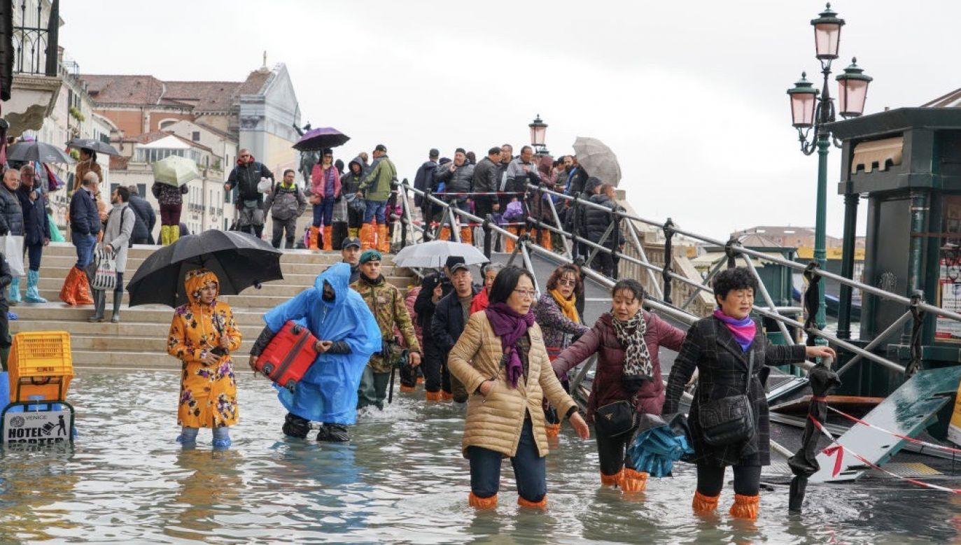 Wenecja od lat zagrożona jest wysoką wodą (fot. Carlo Morucchio/REDA&CO/Universal Images Group via Getty Images)