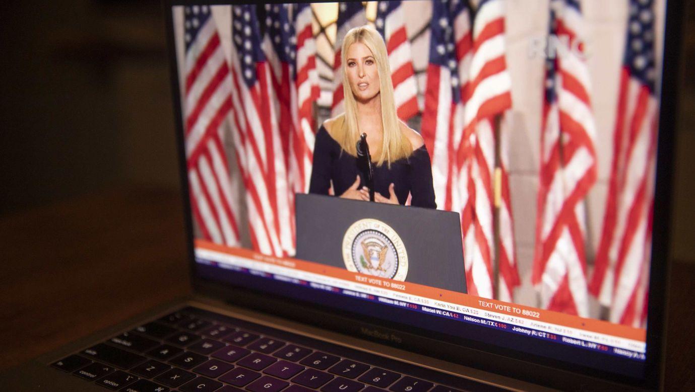 Ivanka Trump, córka i doradczyni prezydenta USA aktywnie wspierała go w kampanii wyborczej. Fot. Daniel Acker/Bloomberg via Getty Images