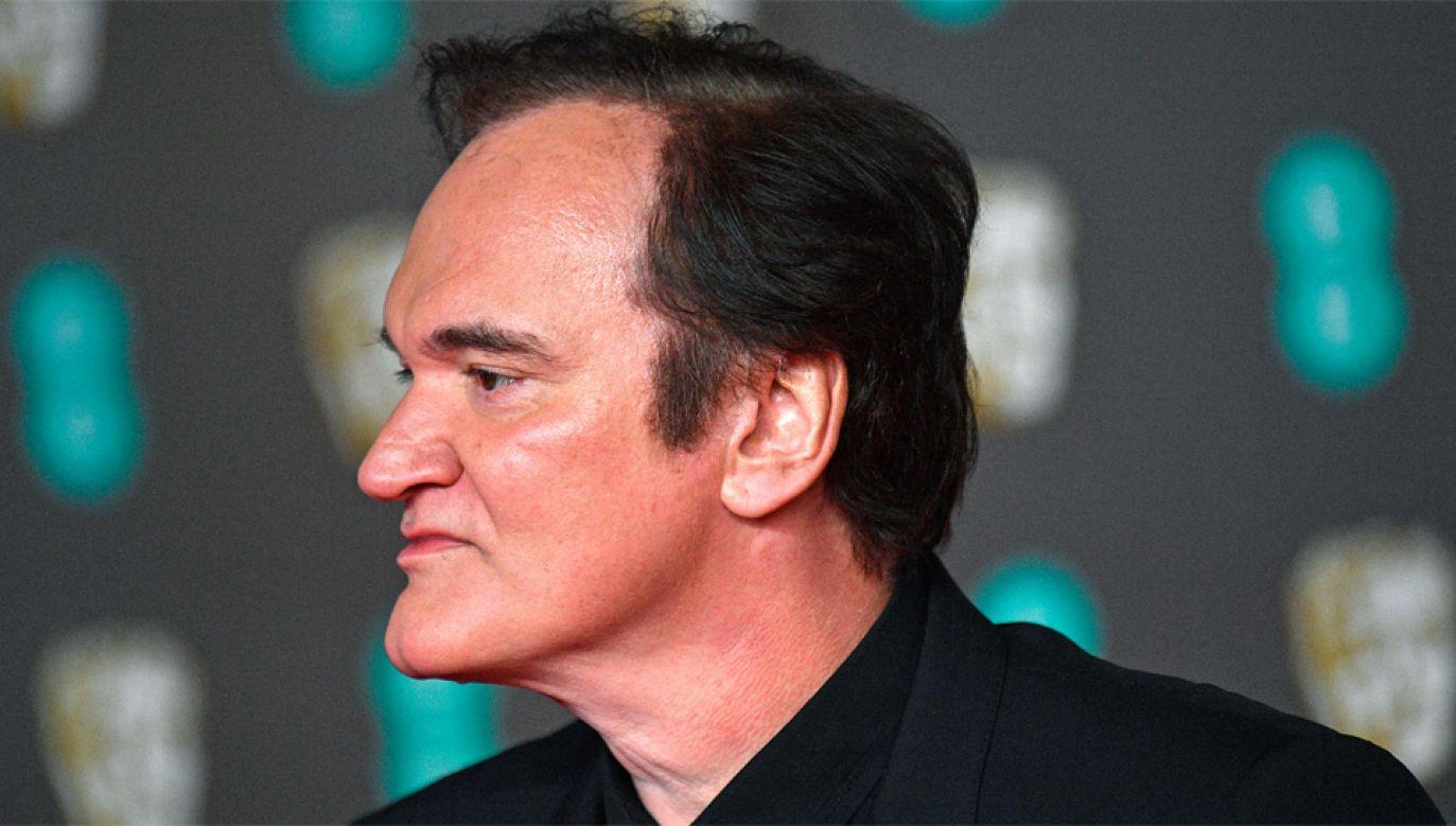 Quentin Tarantino ma szansę na Oscara w kategorii najlepszy reżyser (fot. PAP/EPA/NEIL HALL)