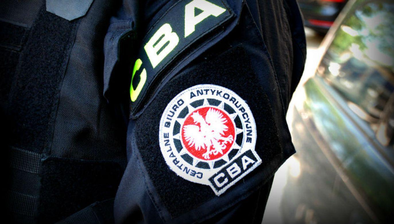 Agenci CBA zatrzymali już blisko 40 osób (fot. CBA)